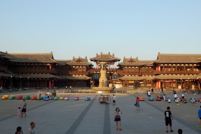 Childeren playing in Datong, China