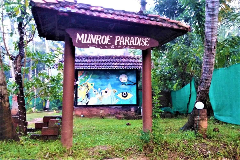 Munroe Paradise in Kerala, India