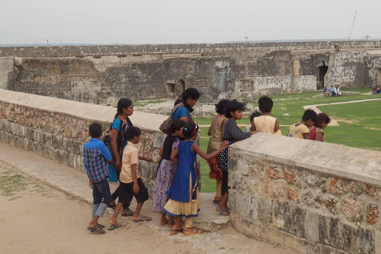 Jaffna Fort, once a Dutch fort