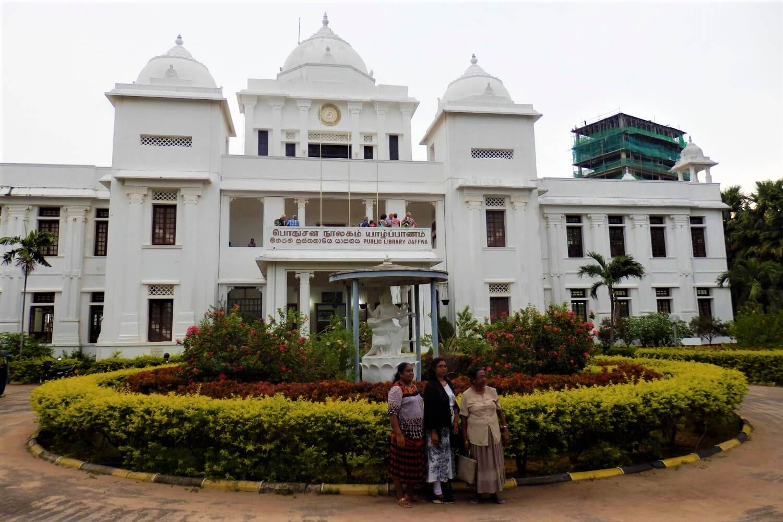 Visit the Jaffna Public Library