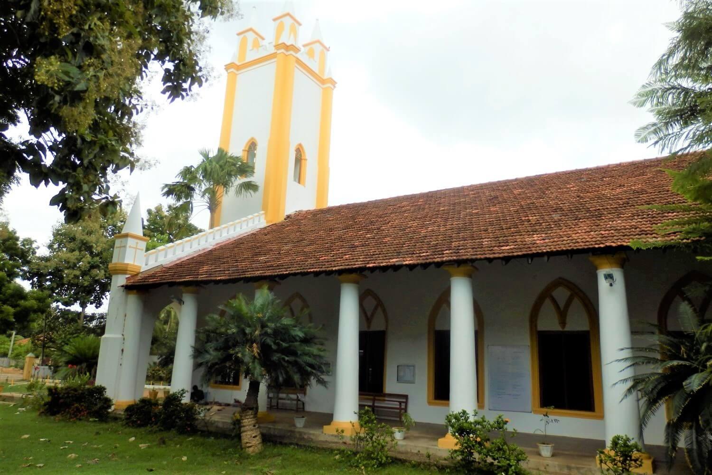 St. James Church and Jamuna Eari St. James Church in Jaffna, Sri Lanka