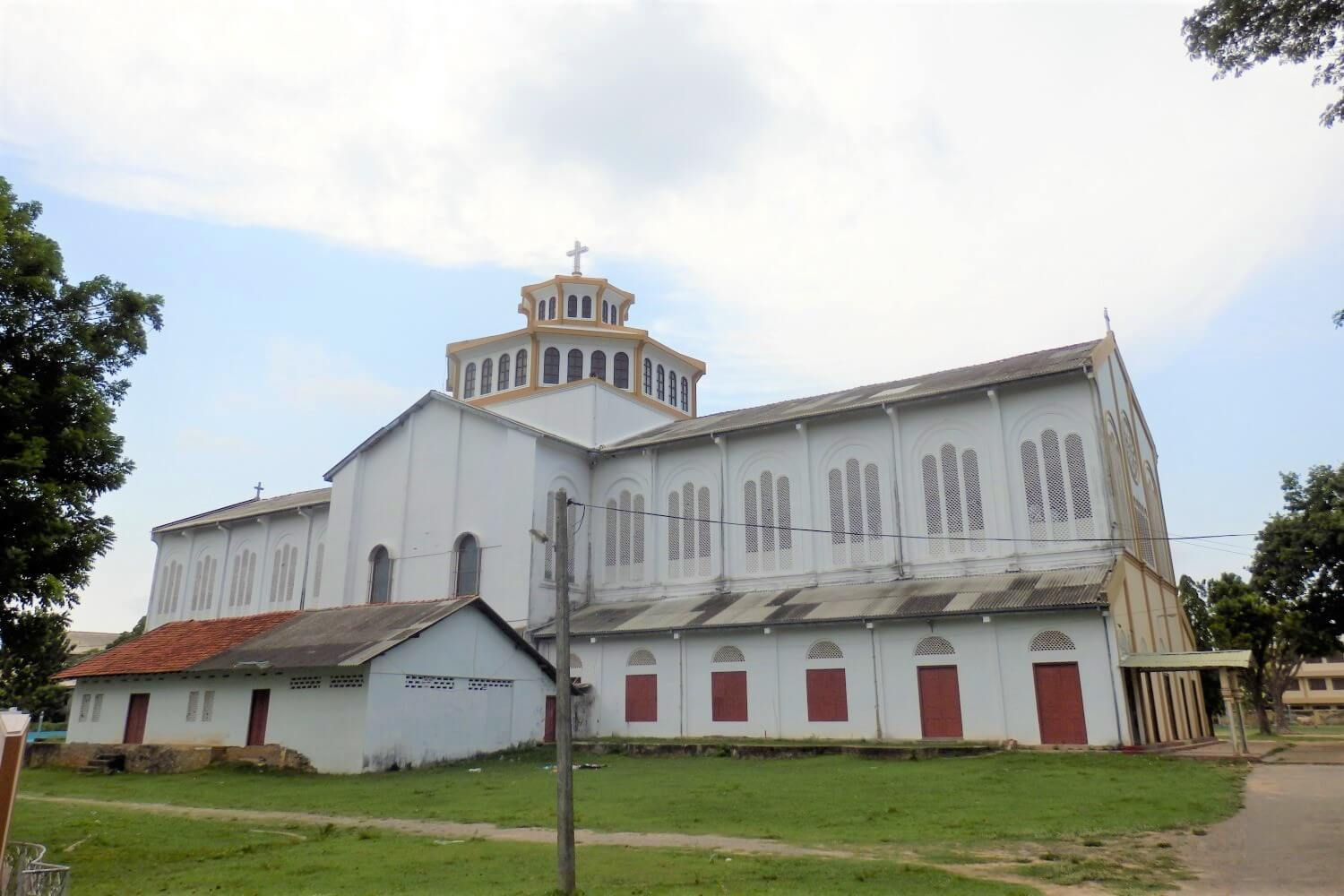 St. Marys Cathedral in northern Sri Lanka