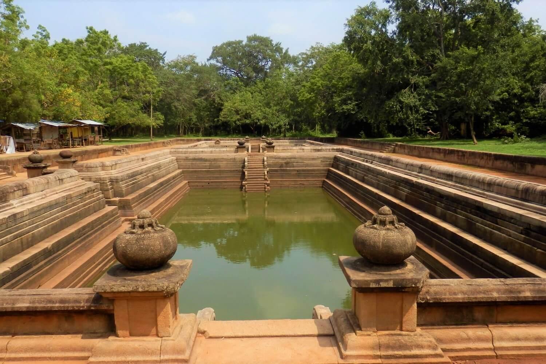 Kuttam Pokuna, the two basins