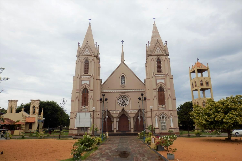St Sebastian Church in Negombo, Sri Lanka