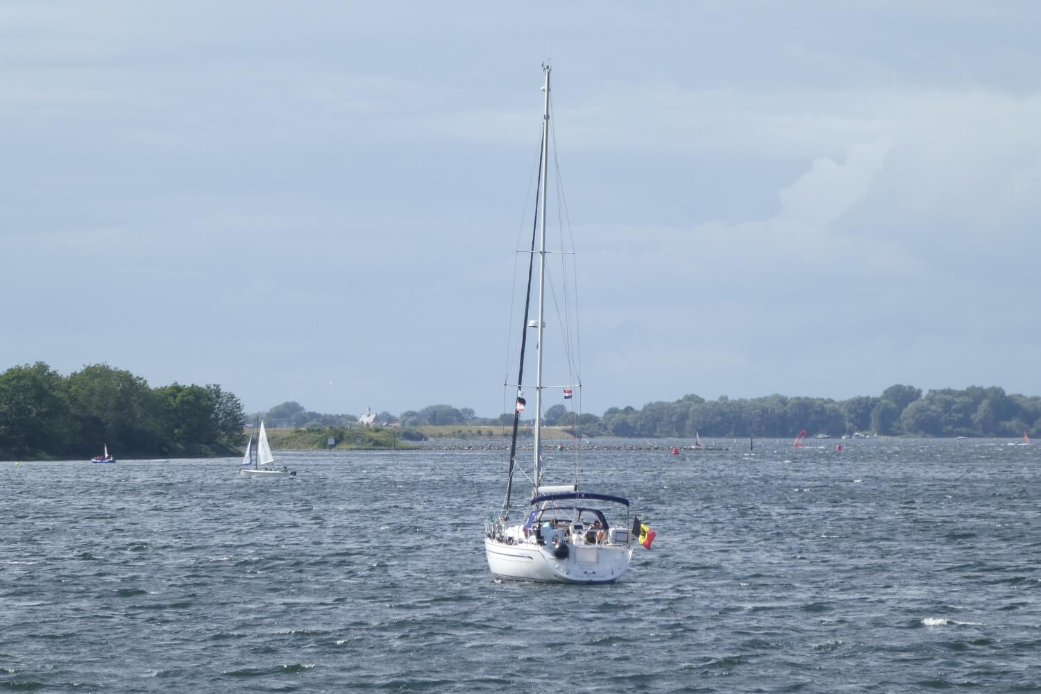 A boat on Lake Veere