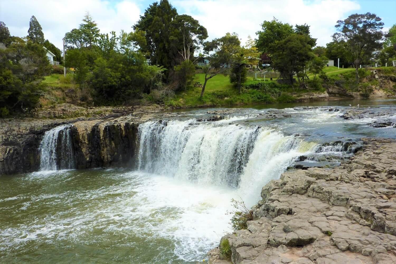 Haruru Falls west of Paihia