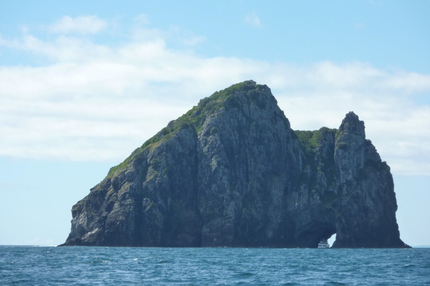 Hole in the Rock in the Bay of Islands