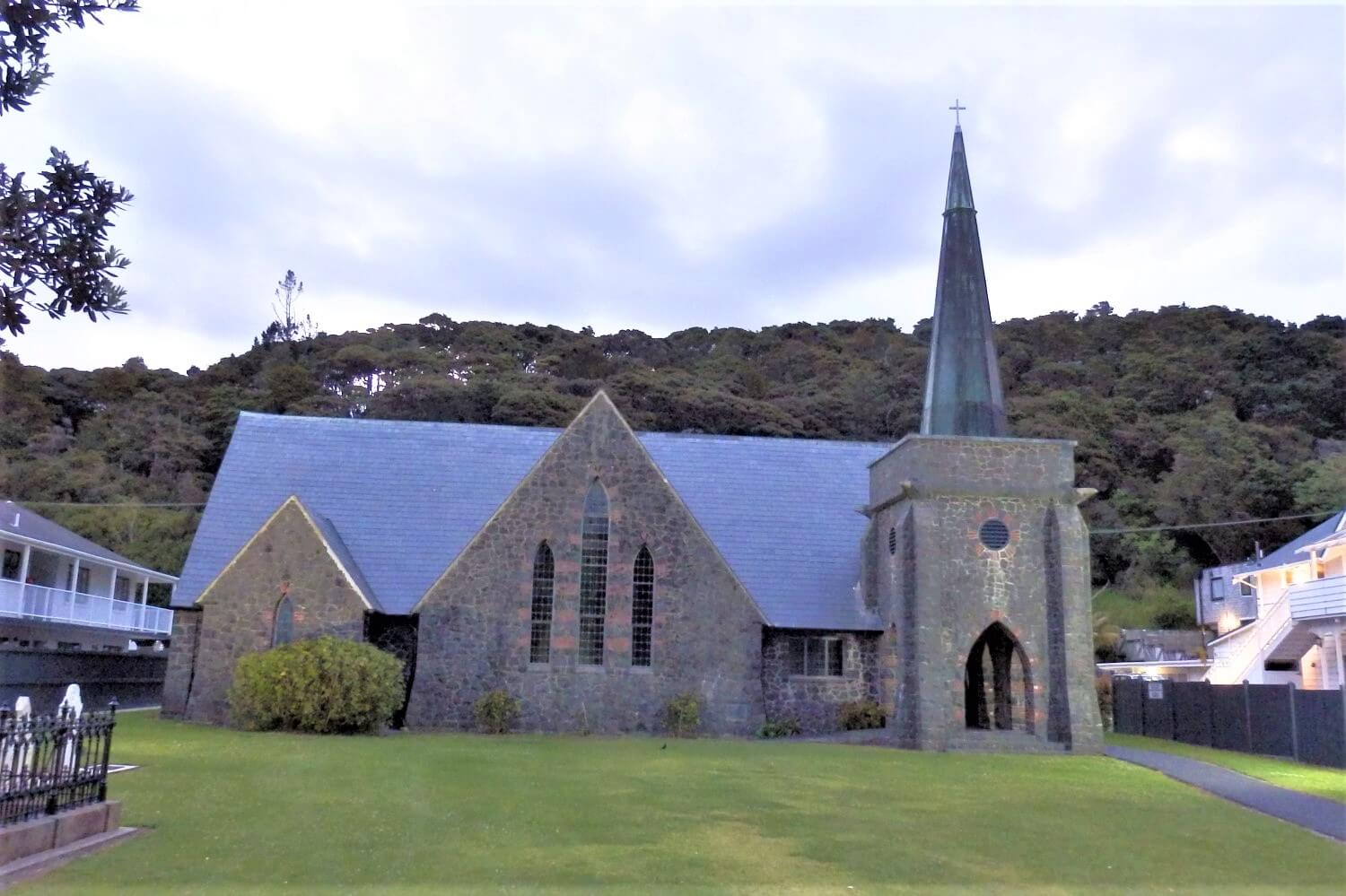 The St. Anglican Church in Paihia, New Zealand