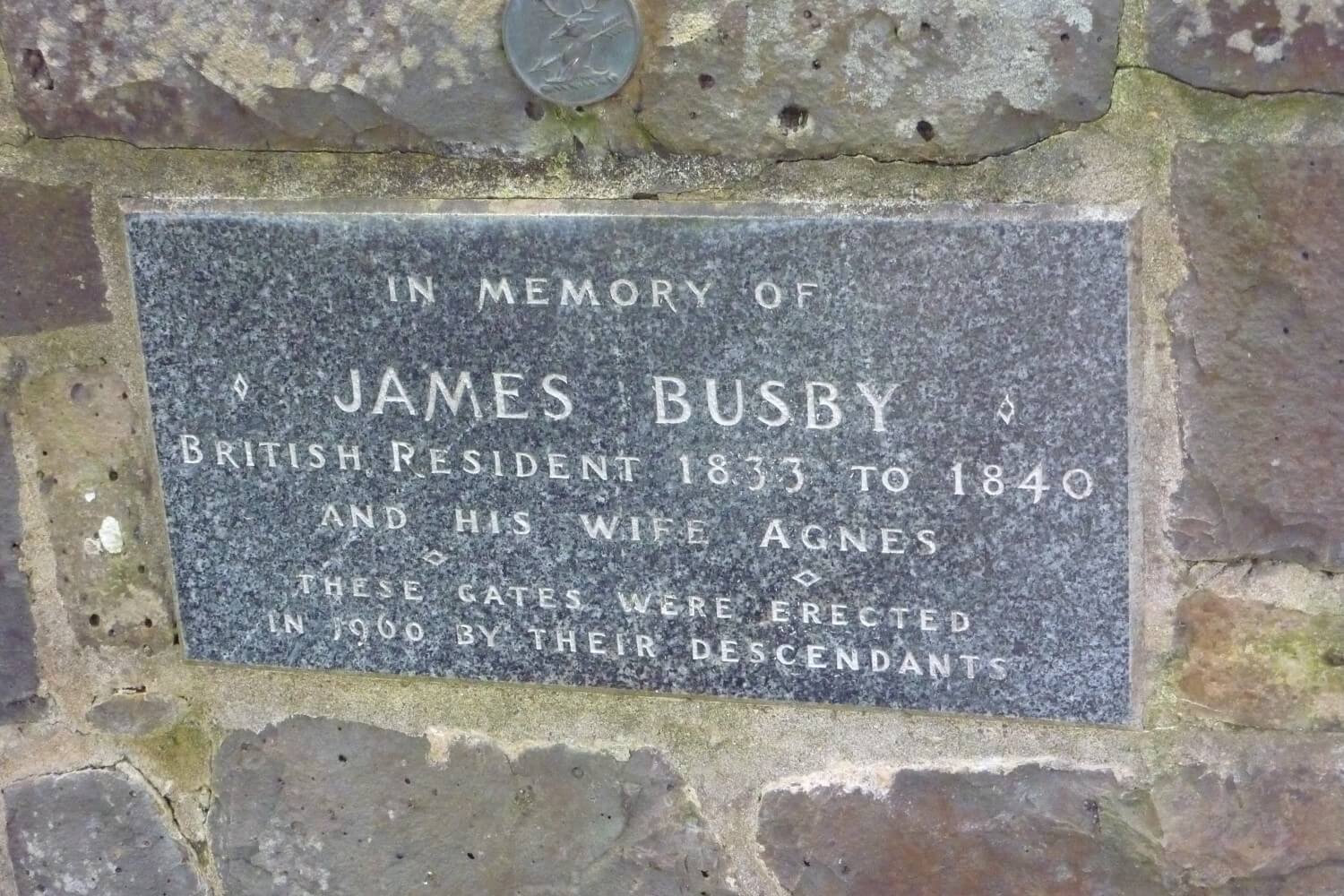 James Busby, British envoy to New Zealand