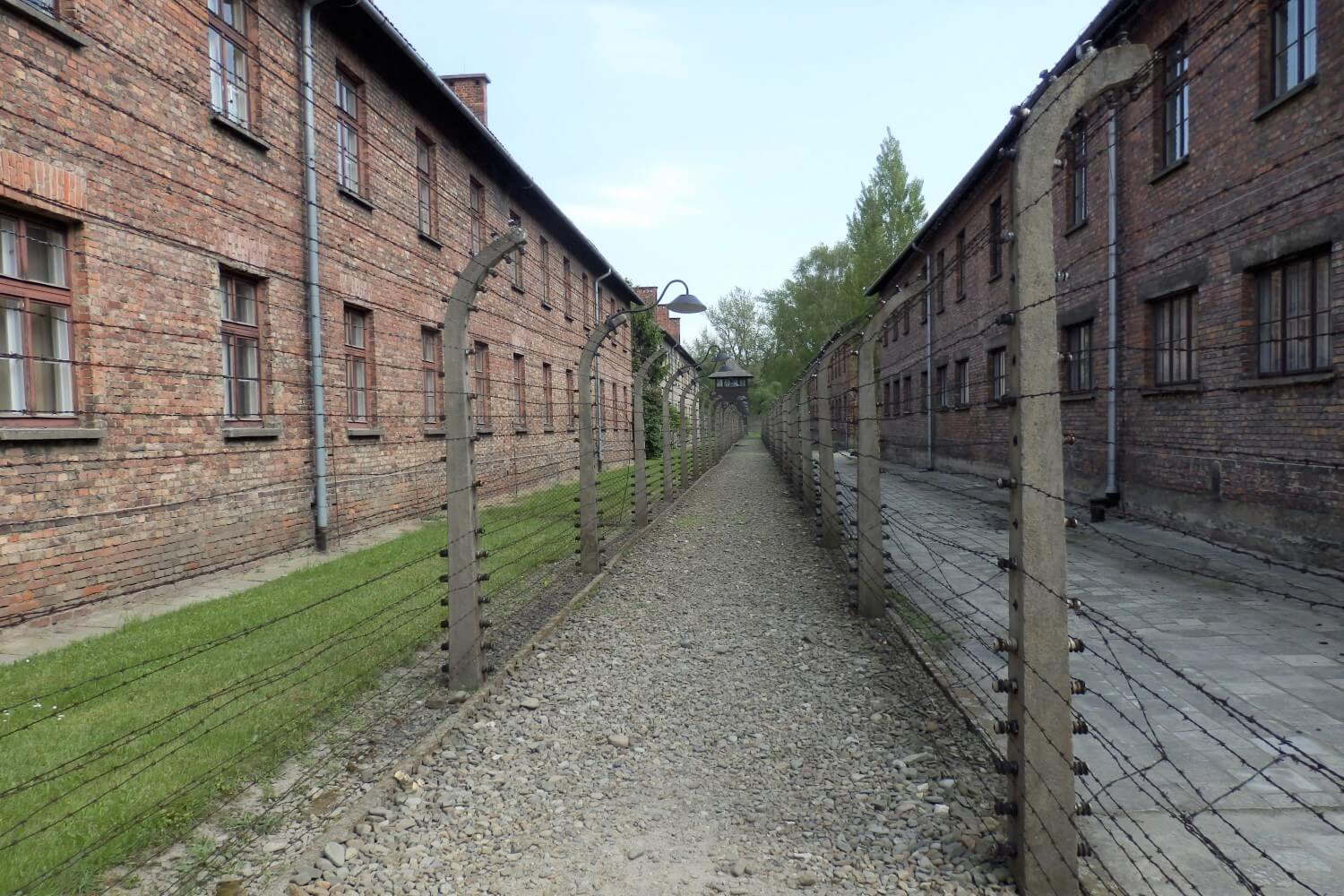 The concentration Camp Auschwitz I in Poland