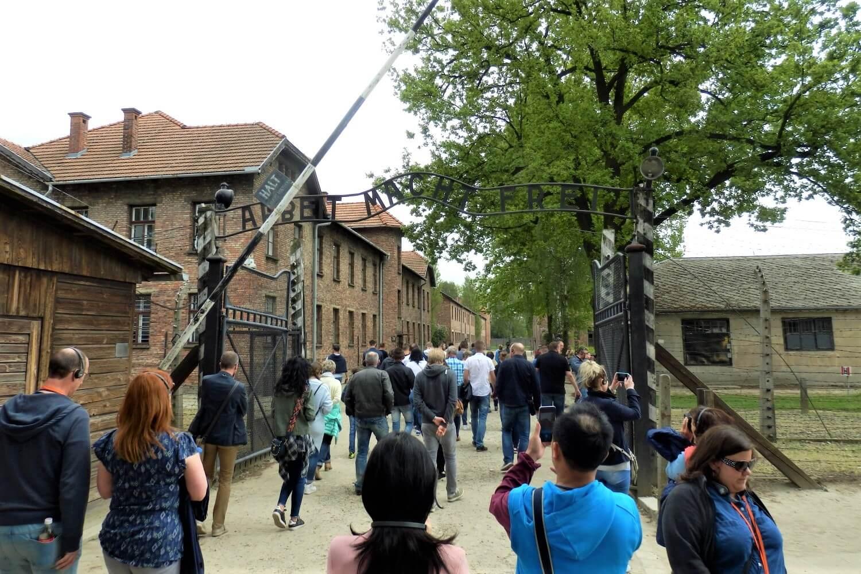A tour throught Auschwitz I, Poland