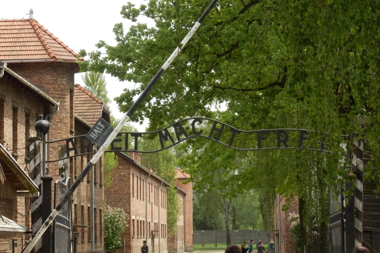 Arbeit macht Frei, sign of Auschwitz