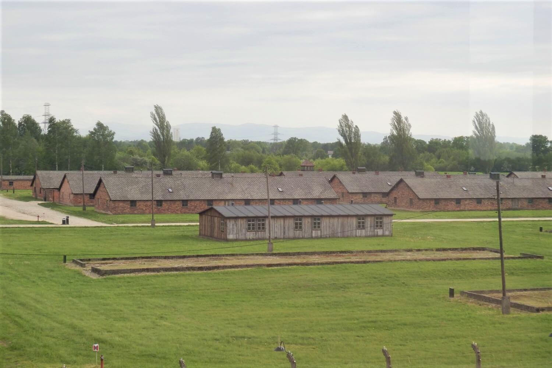 Barracks at Auschwitz-Birkenau, Poland