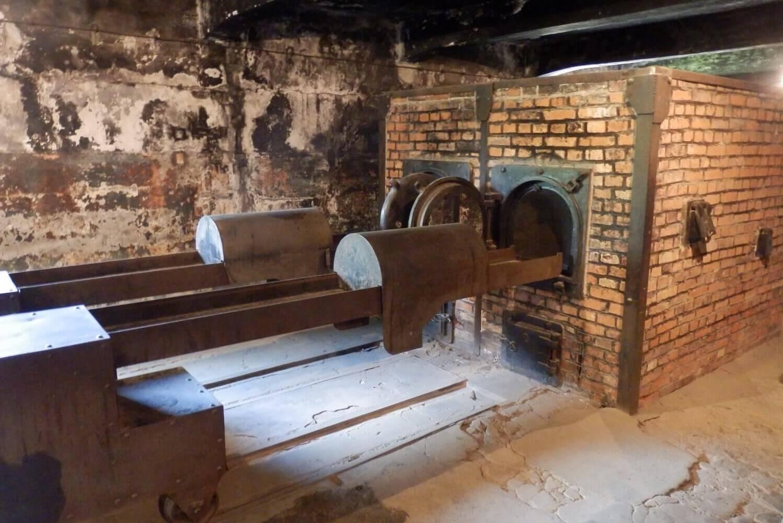 Crematorium at Auschwitz-Birkenau, Poland