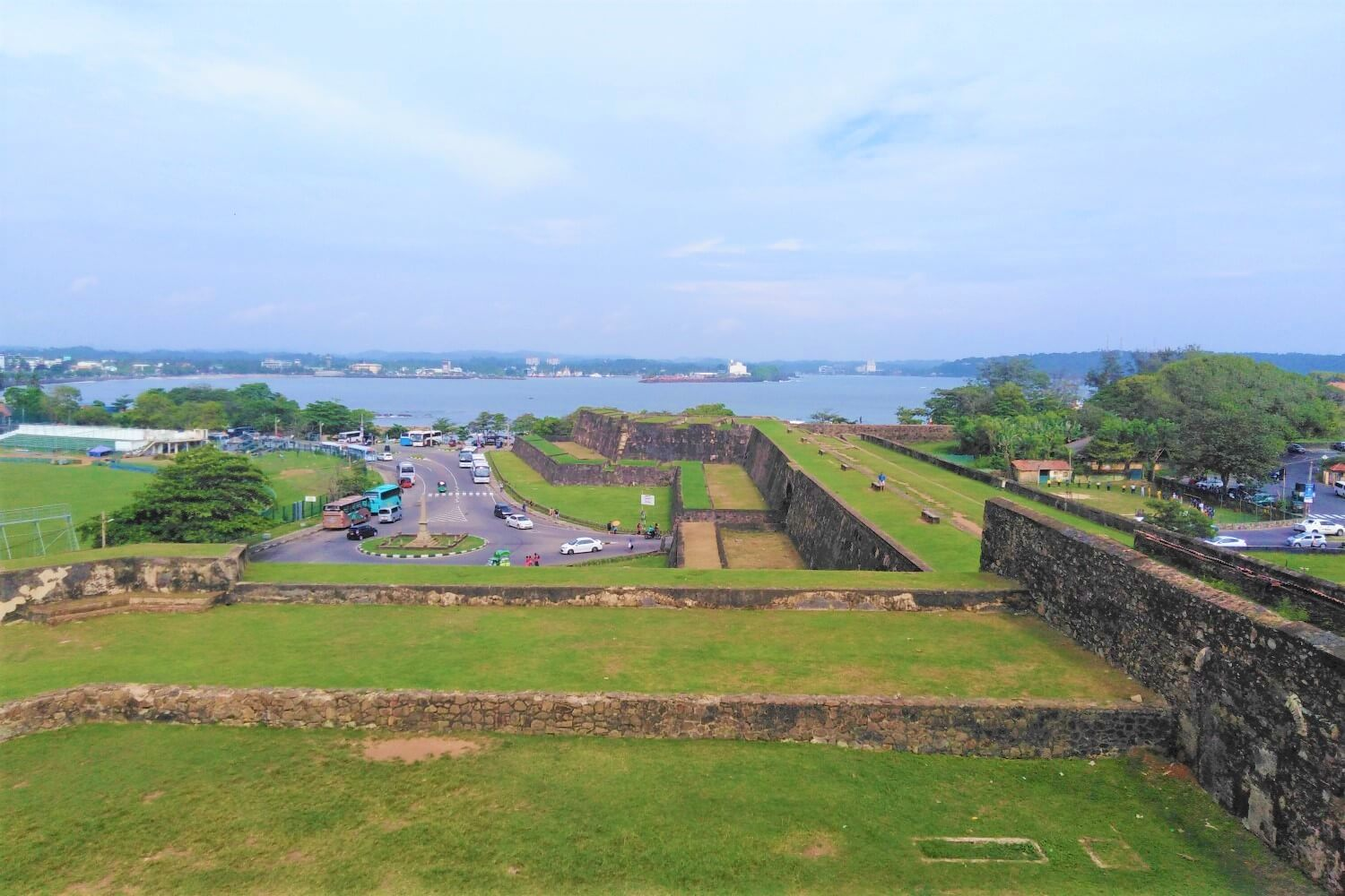 The foundations of the strong Dutch Fort