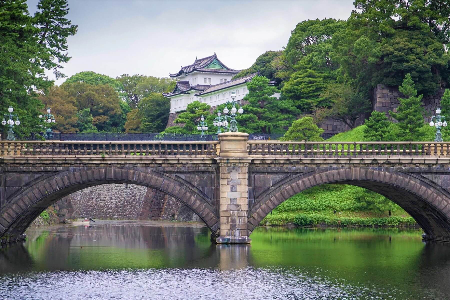 The Imperial Palace in Chiyoda, Tokyo
