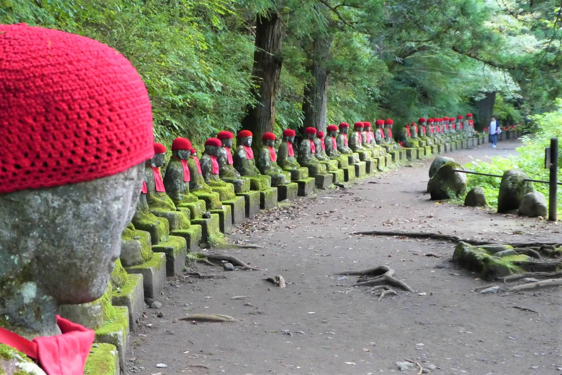 Kanmangafuchi Abyss and the Jizo Statues