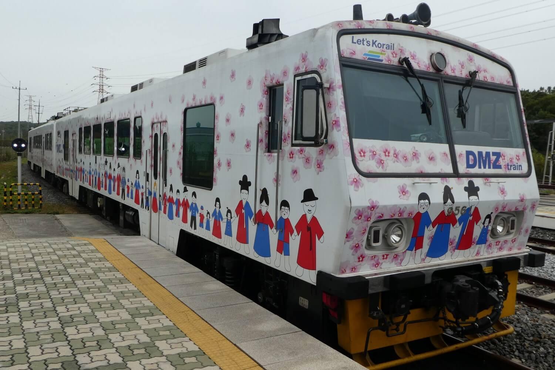 The DMZ Train from Seoul to Dorasan Station