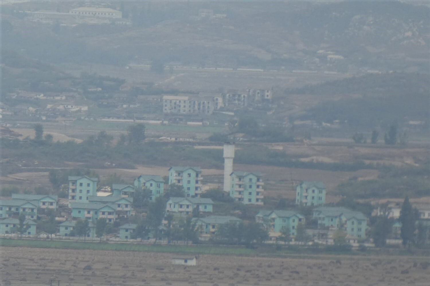 A view of North Korea