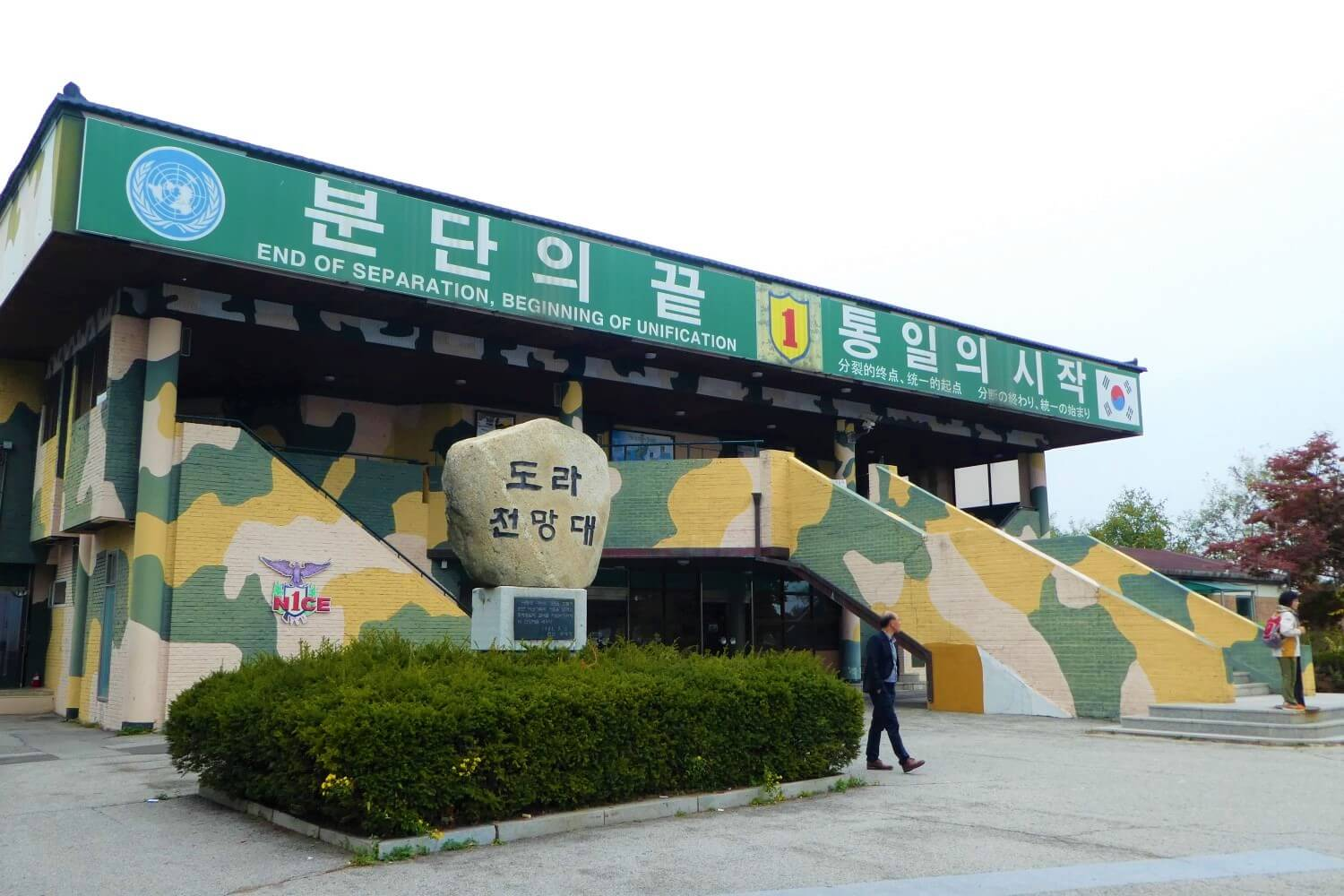 Viewpoint of the DMZ border