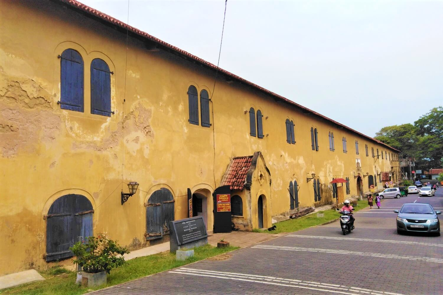 The Maritime Museum of Galle in Sri Lanka