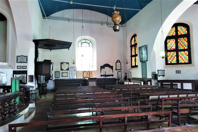 Inside the Dutch Church in Sri Lanka