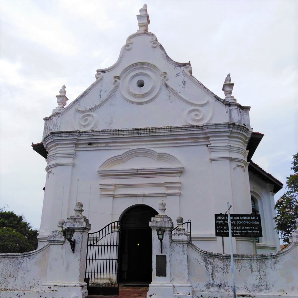 The Dutch Reformed Church in Galle