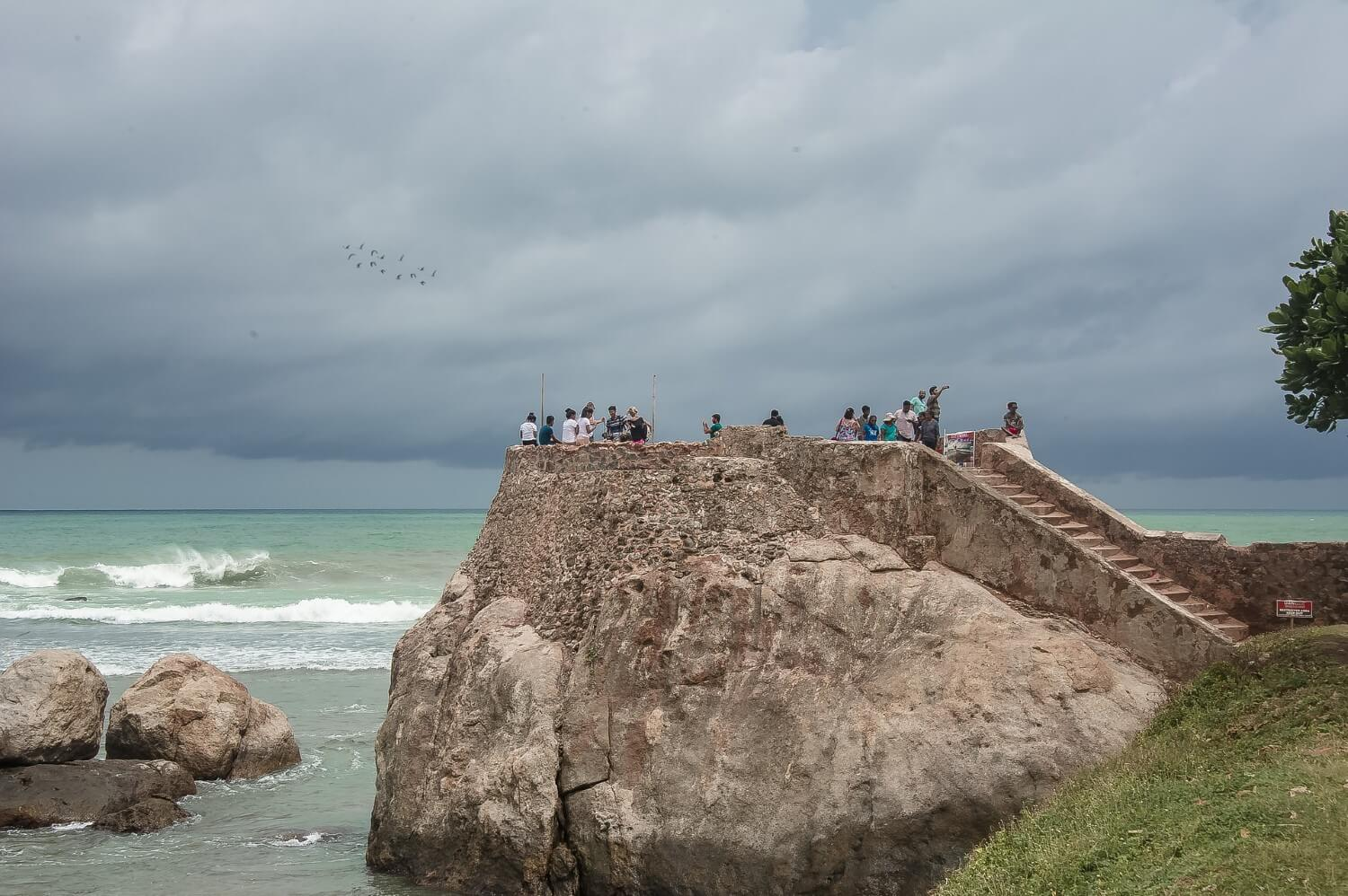 Part of the Dutch Fort in Galle
