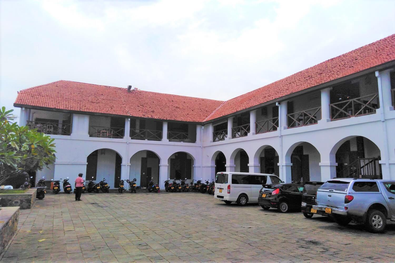 The Dutch hospital in Galle, Sri Lanka